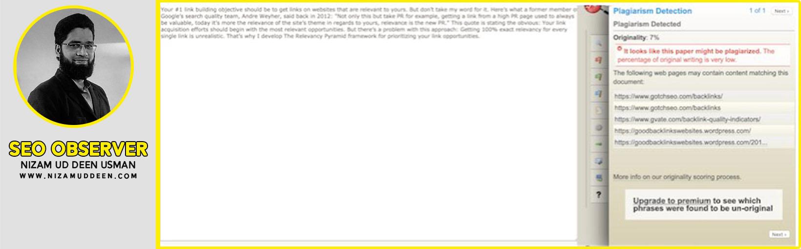 PaperRater Plagiarism Detection